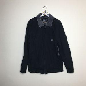 NWT O'neil black fleece lined heavy winter jacket